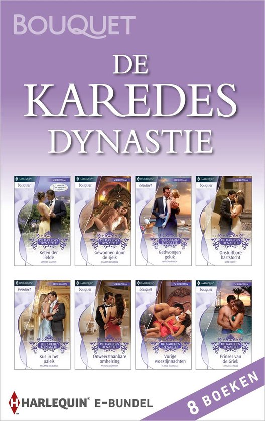 Bouquet Bundel - De Karedes Dynastie (8-in-1) - Chantelle Shaw |