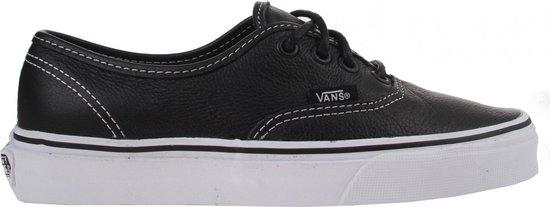 bol.com | Vans Sneakers - Authentic Leer Dames Zwart Maat 35