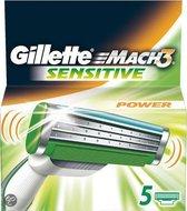 GILLETTE  scheermesjes Mach3 Sensitive 5ct  5-pack