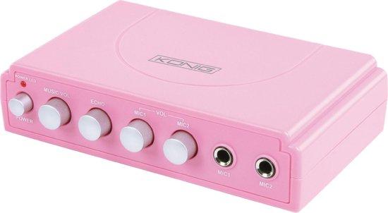 Karaoke Mixer Pink