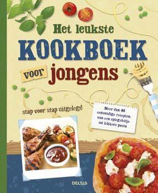 Boek cover Het leukste kookboek voor jongens van Abigail Wheatley (Hardcover)