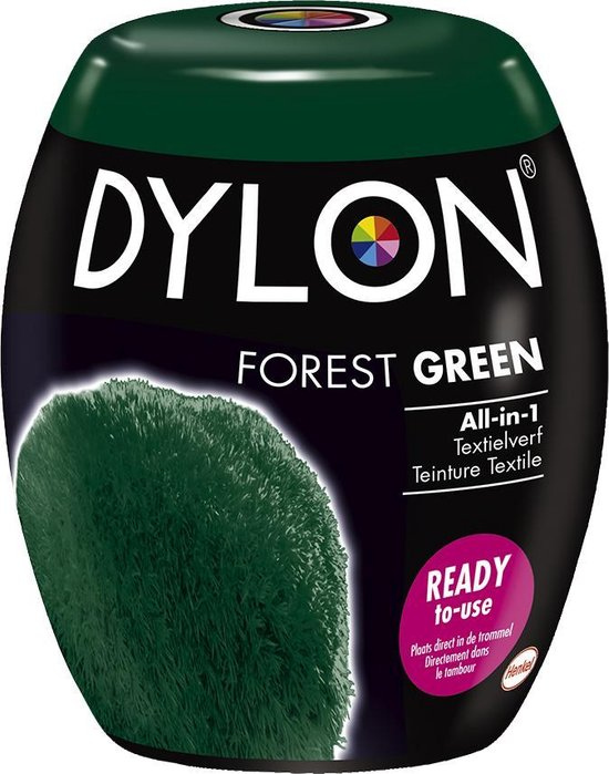 DYLON Wasmachine Textielverf Pods - Forest Green - 350g