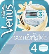 Gillette Venus Comfortglide Vanillecrème Scheermesjes Vrouwen - 4 Stuks