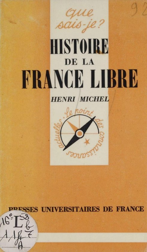 Histoire de la France libre