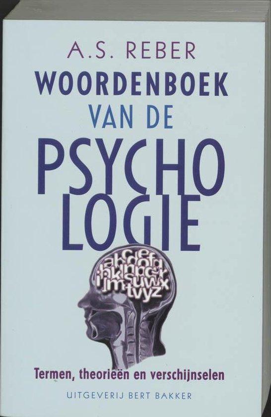 Woordenboek van de psychologie - A.S. Reber |