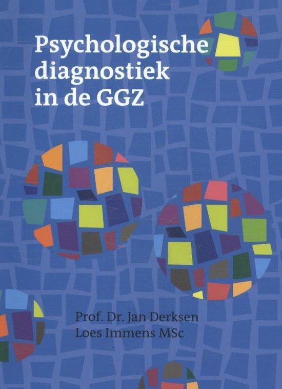Boek cover Psychologische diagnostiek in de GGZ van Jan Derksen (Paperback)