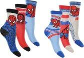 6 paar sokken Spiderman maar 23/26