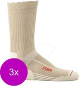 Stapp Unisex Coolmax Cordura Beige - Sokken - 3 x 39-42
