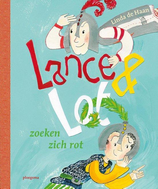 Boek cover Lance en Lot zoeken zich rot van Linda de Haan (Onbekend)