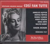Mozart: Cosi Fan Tutte (Sung In German)