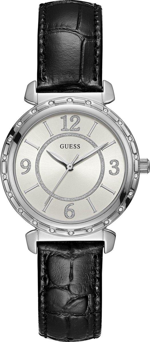 GUESS Watches W0833L2 - Horloge - Dames -Zwart - Ø 34 mm - GUESS