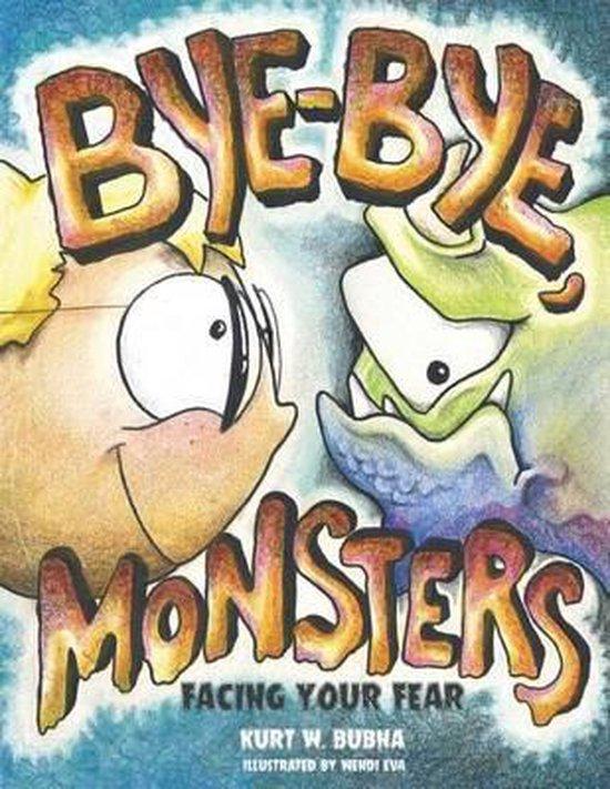 Omslag van Bye-Bye Monsters!