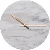 Zuiver Marble Time - Wandklok - Wit