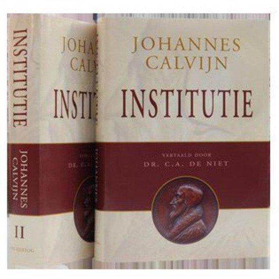 Boek cover Institutie van J. Calvijn (Hardcover)