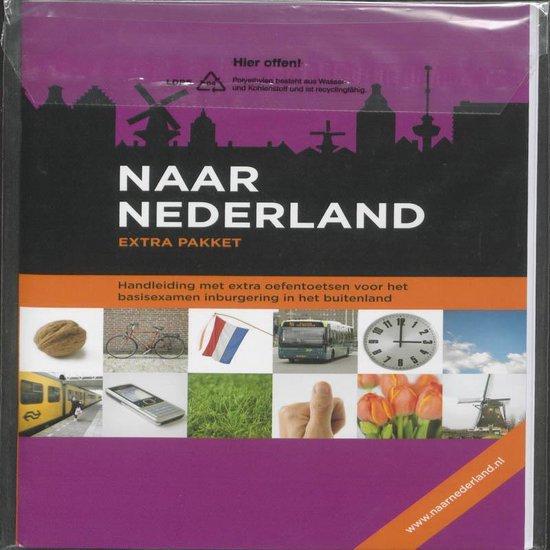 Cover van het boek 'Naar Nederland / deel Handleiding + oefentoetsen' van  Nvt.