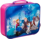 Disney Frozen Koffer Blauw/Roze