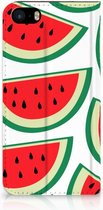 Design Hoesje iPhone SE Watermelons