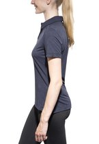 Jack Wolfskin Travel t-shirt Dames Polo blauw Maat XL