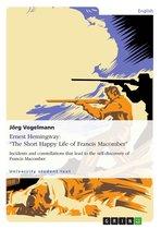 Ernest Hemingway: 'The Short Happy Life of Francis Macomber'