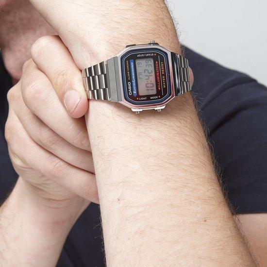 Casio Vintage Iconic A168WA-1YES - Dames - Horloge - 36.3 mm