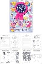 48 Stuks - Puzzel Boek - Model: Pony's - Uitdeelcadeautjes - Paarden - Puzzelboeken - Traktatie voor kinderen - Meisjes
