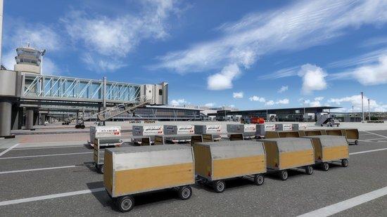 Prepar3D V4: Mega Airport Zurich V2.0 professional - Add-on - Windows download - Aerosoft