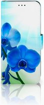 GSM Hoesje Huawei P Smart (2018) Design Orchidee Blauw