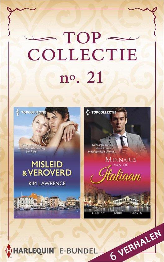 Topcollectie Bundel 21 - Topcollectie 21: Misleid & veroverd ; Minnares van de Italiaan - Kim Lawrence  