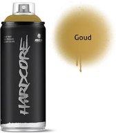 MTN Gouden spuitverf - 400ml hoge druk en glans afwerking
