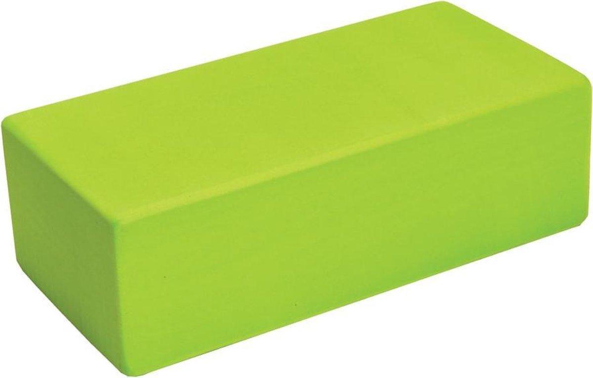 MADFitness - Yoga Brick Hi-Density  - Groen kopen
