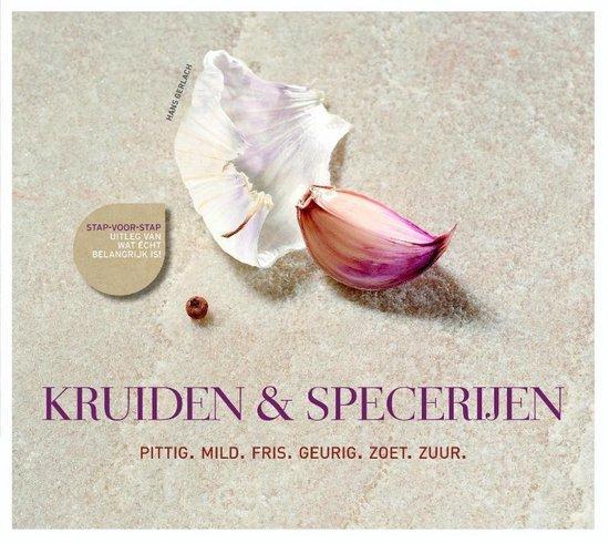 Boek cover Kruiden & specerijen van Hans Gerlach (Hardcover)