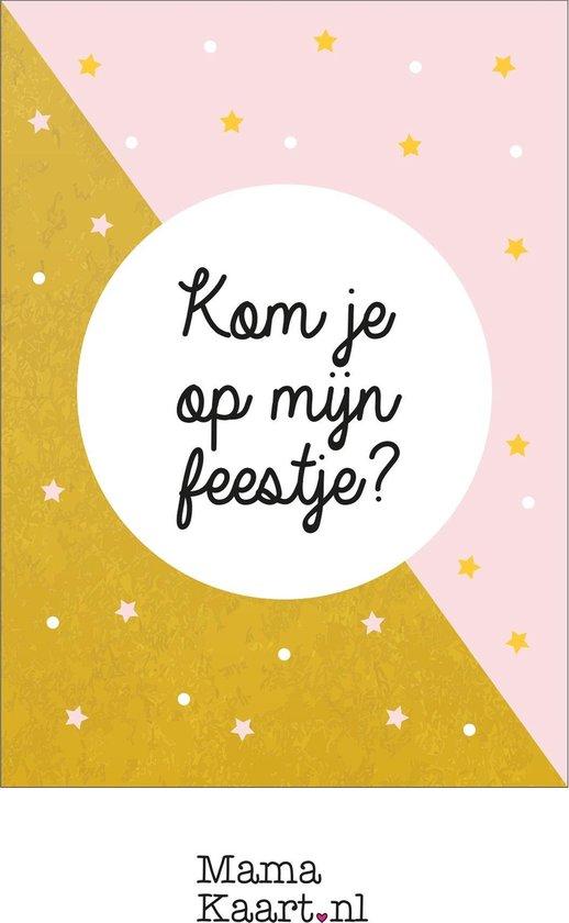 Nieuw bol.com   Uitnodigingen feestje - meisje - MamaKaart.nl UT-29