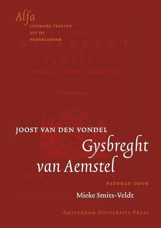 Cover van het boek 'Gysbreght van Aemstel' van Joost van den Vondel