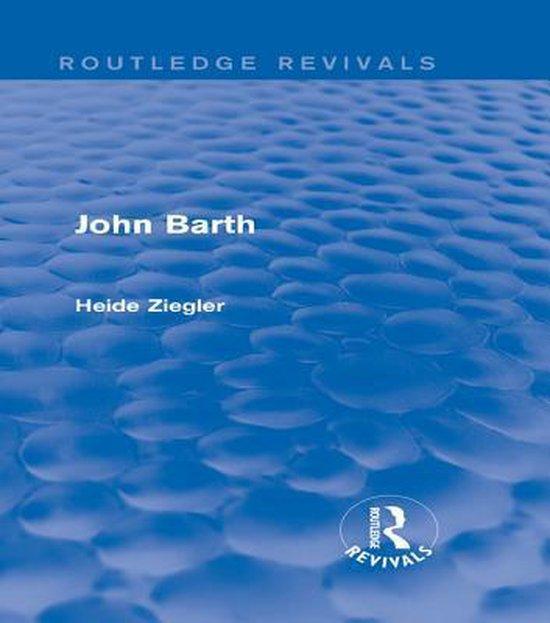 John Barth (Routledge Revivals)