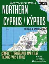 Northern Cyprus / Kypros Hiking & Walking Map 1