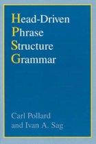 Head-Driven Phrase Structure Grammar