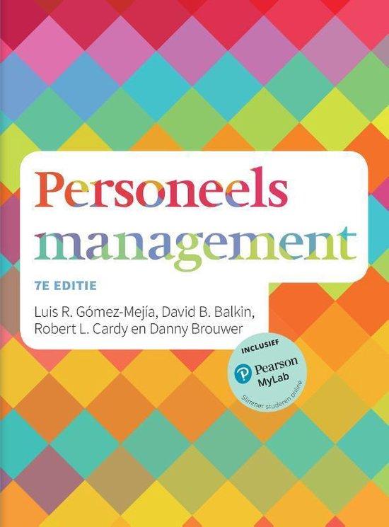 Personeelsmanagement / 7e editie - Luis R. Gomez-Mejia |