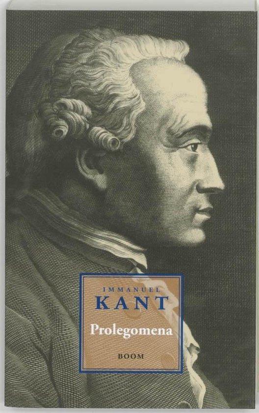 Boek cover Prolegomena van Immanuel Kant (Paperback)