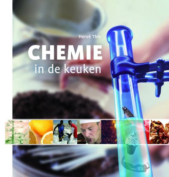 Cover van het boek 'Chemie in de keuken'