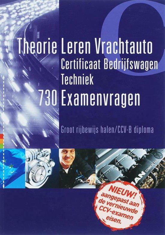 Certificaat bedrijfswagen techniek / 730 Examenvragen - Onbekend |