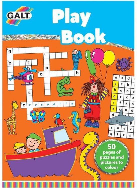 Galt Doe-boek Met Puzzels (en) 29,5 Cm