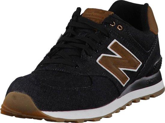 New Balance 574 Classics Traditionnels Sportschoenen - Maat 44.5 - Mannen -  zwart/bruin