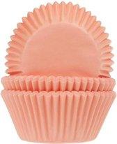 House of Marie Cupcake vormpjes Abrikoos pk/50
