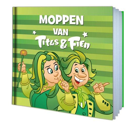Boek cover Titus & Fien Moppenboekje van van Hoorne Entertainment (Hardcover)