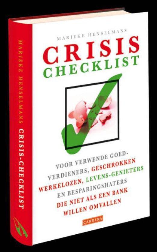 Crisis-Checklist - Marieke Henselmans pdf epub