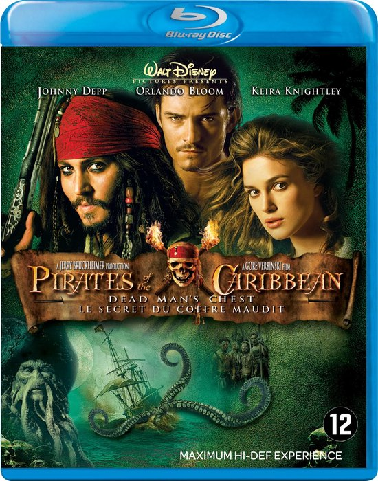 Cover van de film 'Pirates Of The Caribbean: Dead Man's Chest'