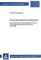 Finanzielle Maerkte Und Geldpolitik