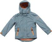 Ducksday regenjas met uitritsbare fleece unisex Manu - 8 jaar