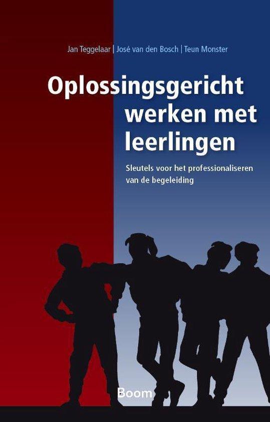 Oplossingsgericht werken met leerlingen - Jan Teggelaar |