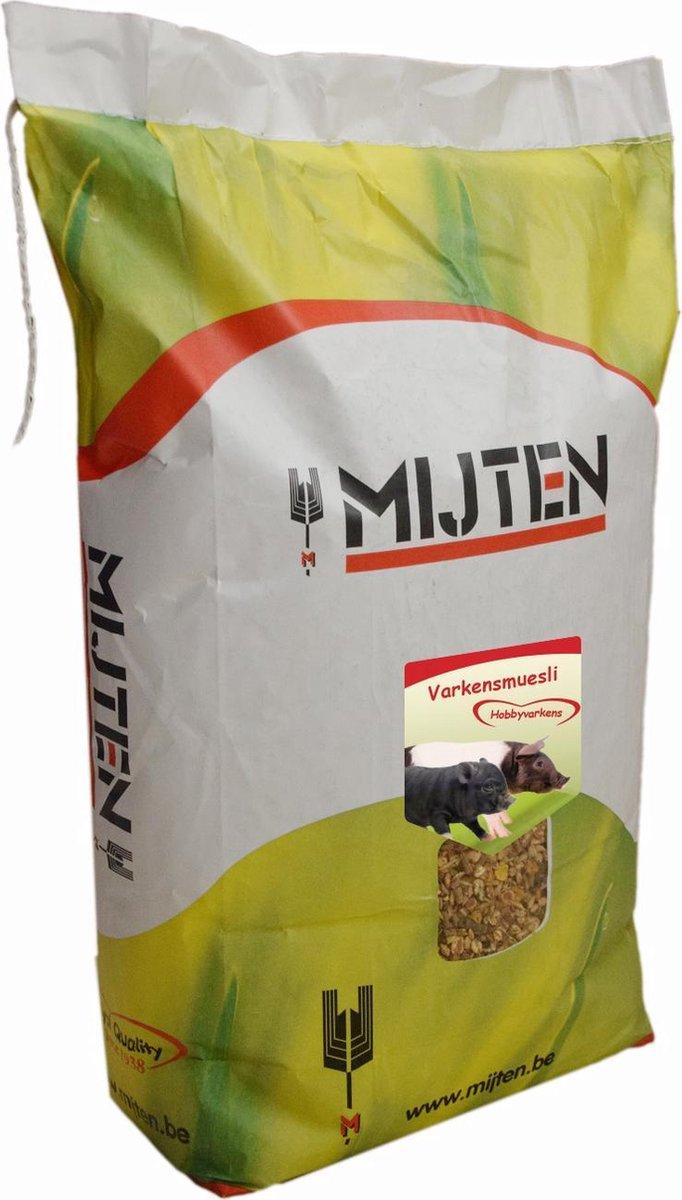 Varkensvoer - Varkensmuesli - Hobbyvarkens - Mijten 12,5 kg